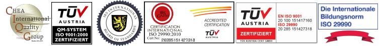 ISO Accreditation NCCA CHEA